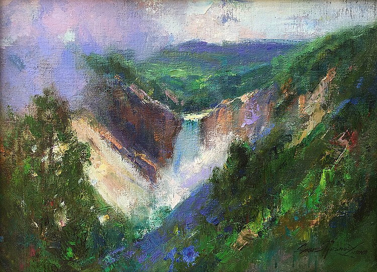 Cyrus Afsary - Yellowstone Falls