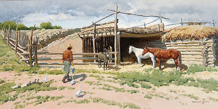 Wayne Wolfe - On the Ranch of the Swallows