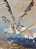 Jamie Wyeth - Gulls & Burger 1998, Jamie Wyeth, $50,001
