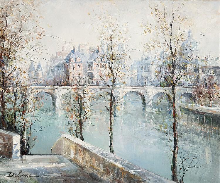 Lucien Delarue - Les Quais de la Seine