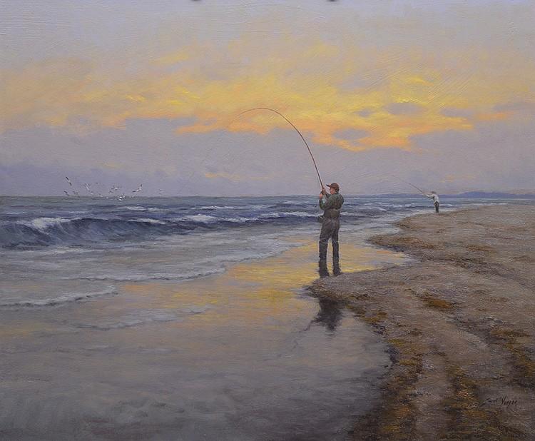 Scott Yeager - Surf Fishing