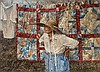 Donny Finley - Grandmother with Quilts, Donny Lamenda Finley, $2,251