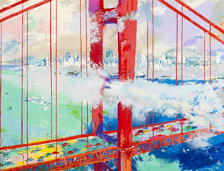 Leroy Neiman - San Francisco by Day