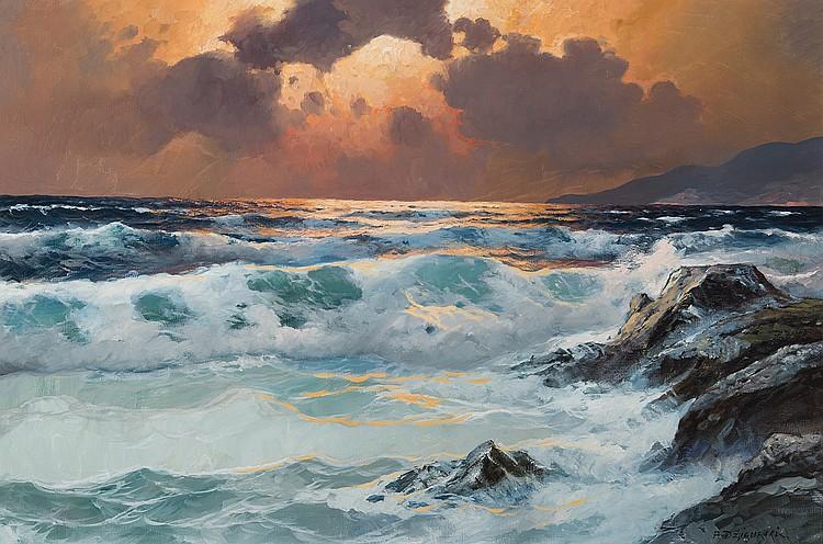 Alexander Dzigurski - California Surf