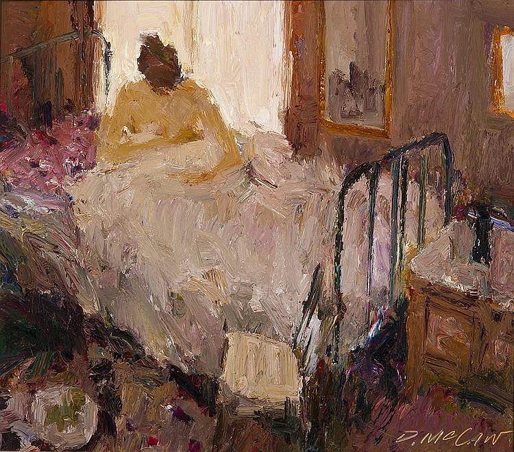 Dan McCaw - The Iron Bed