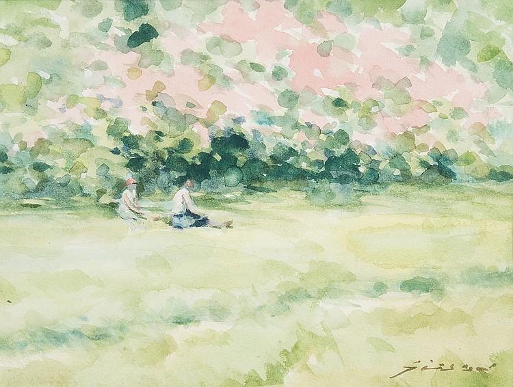 Andre Gisson - Garden Scene