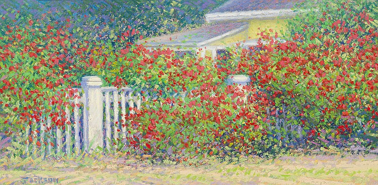 Robert Scott Jackson - The Rose Fence