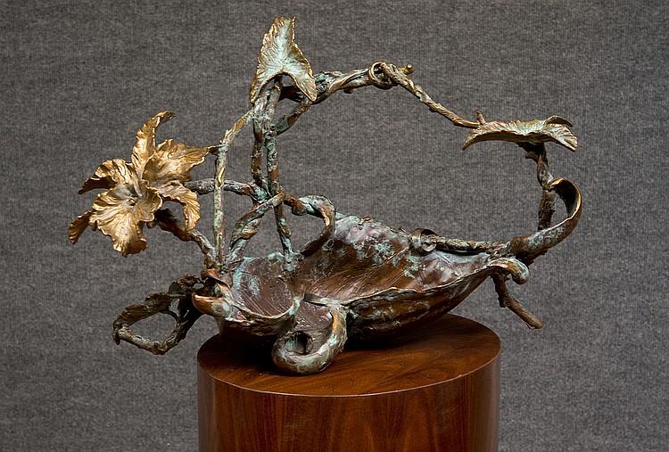William Sharles - Bowl Form w/Flowers