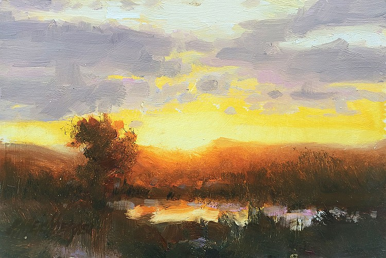 Richard Heichberger - End of Day Study