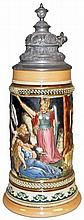 A MARZI AND REMY NORDIC MYTH BEER STEIN