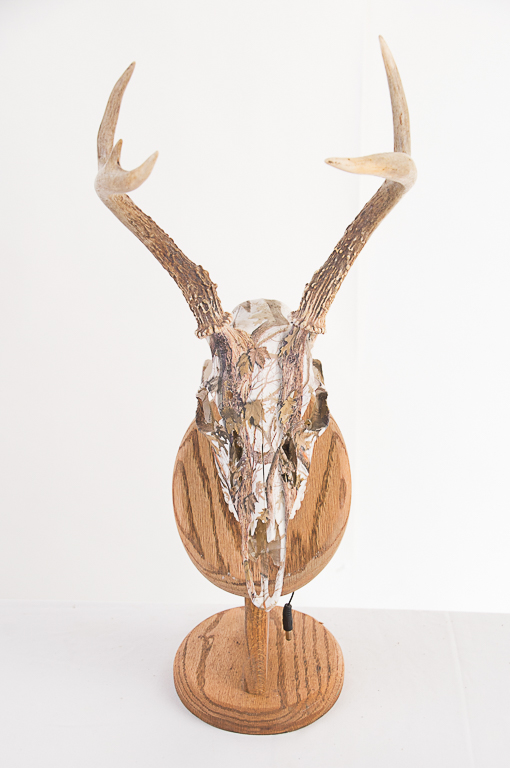 Snow Camo 5 Point Buck Rack