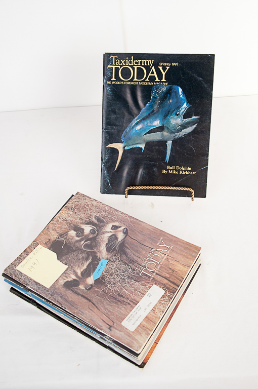 Taxidermy Today Magazine 1990-1991 Editions