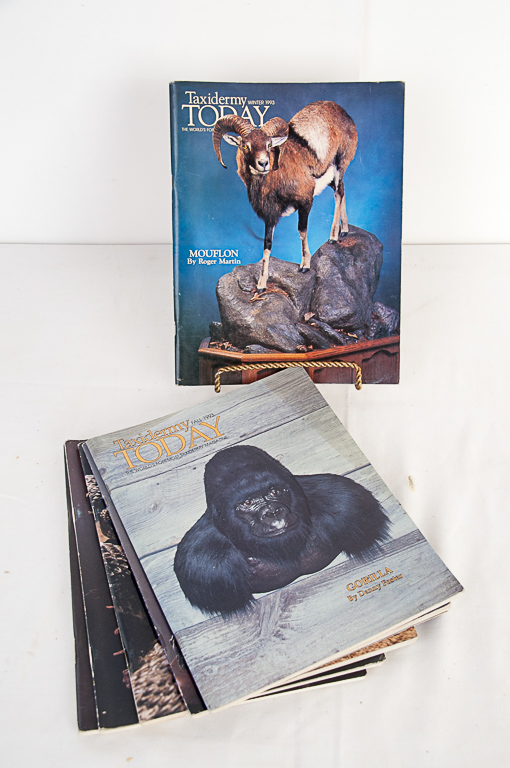 Taxidermy Today Magazine 1992-1993 Editions