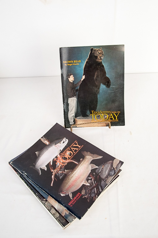 Taxidermy Today Magazine 1994-1995 Editions