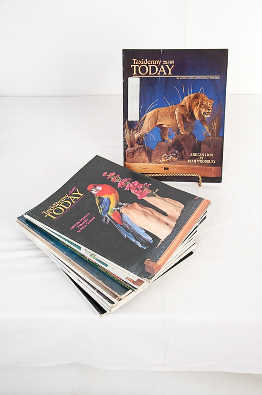 Taxidermy Today Magazine 1996-1997 Editions