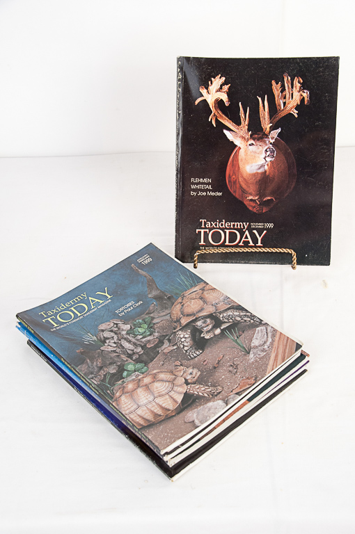 Taxidermy Today Magazine 1997-1999 Editions