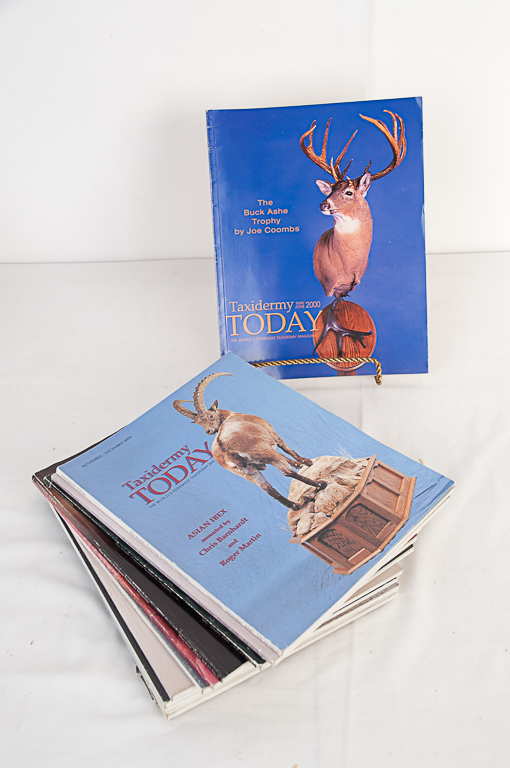Taxidermy Today Magazine 2000-2001 Editions