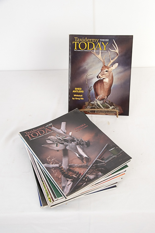Taxidermy Today Magazine 2002-2003 Editions