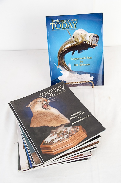 Taxidermy Today Magazine 2004-2005 Editions