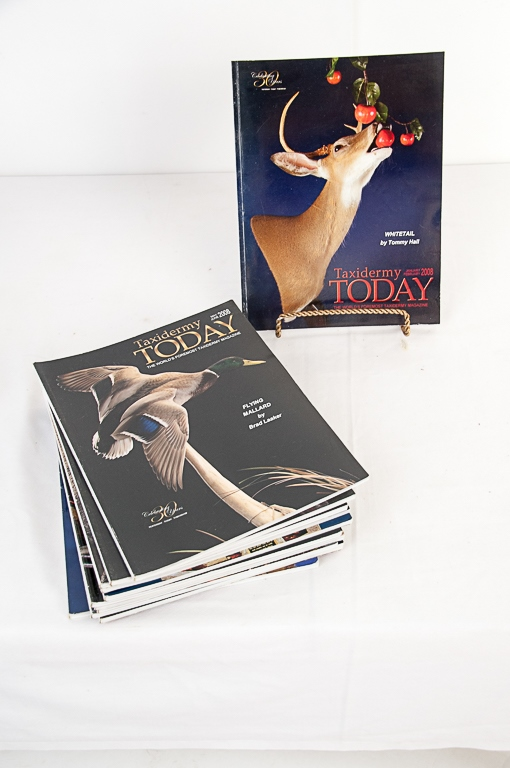 Taxidermy Today Magazine 2008-2009 Editions