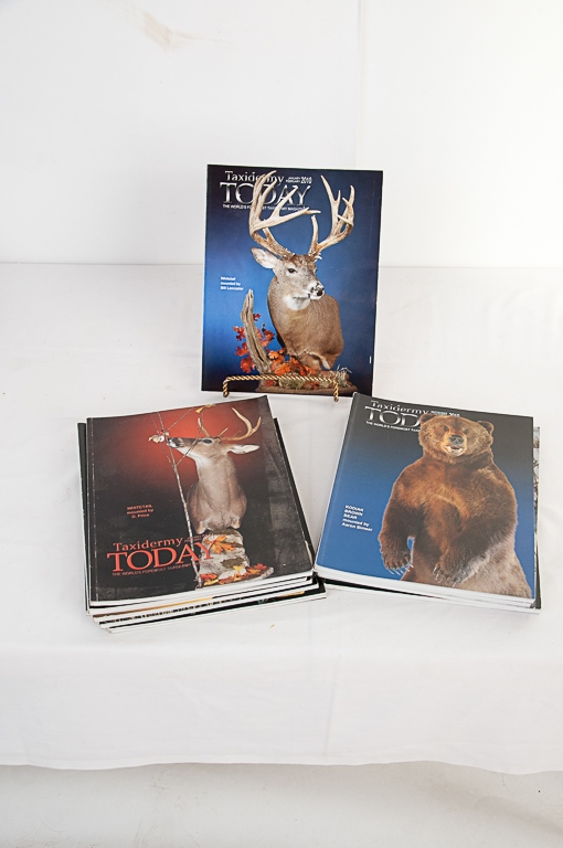 Taxidermy Today Magazine 2010-2011 Editions