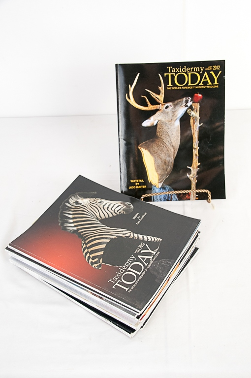 Taxidermy Today Magazine 2012-2013 Editions