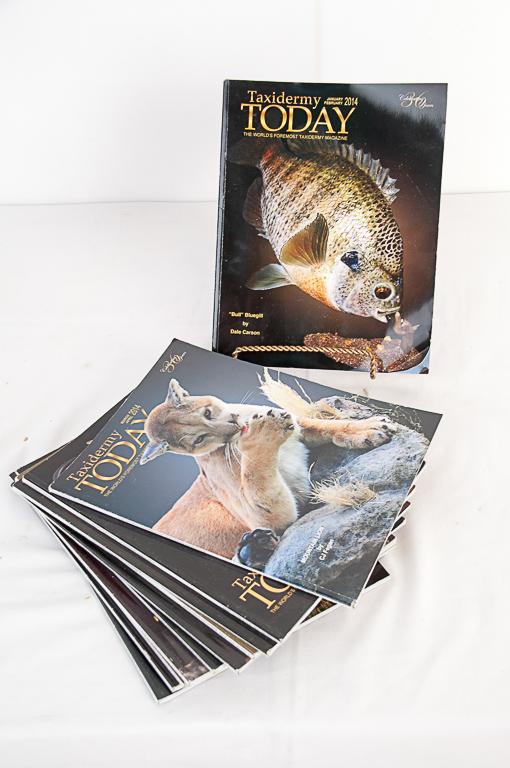 Taxidermy Today Magazine 2014-2015