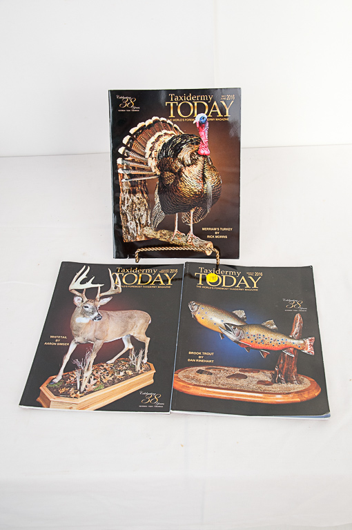 Taxidermy Today Magazine 2016 Editions