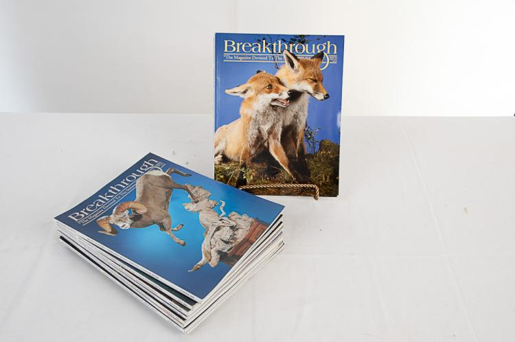 Breakthrough Taxidermy Magazine 2008-2010