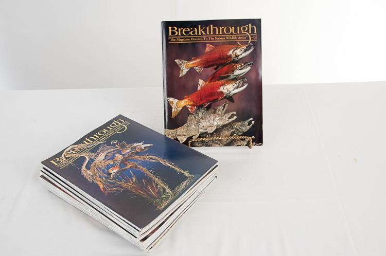 Breakthrough Taxidermy Magazine 2005-2007