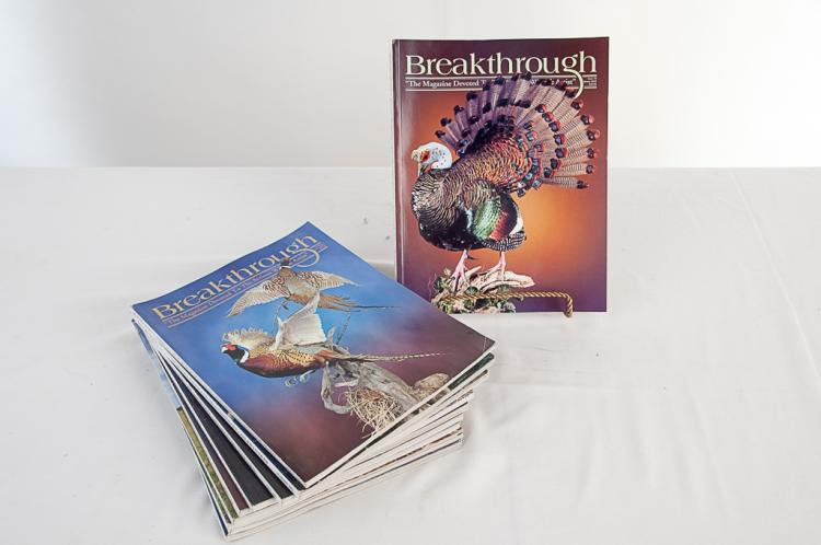 Breakthrough Taxidermy Magazine 2003-2005