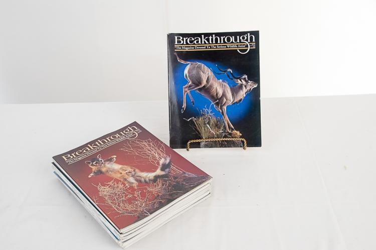 Breakthrough Taxidermy Magazine 2000-2002