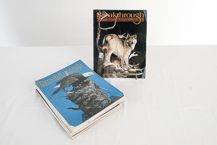 Breakthrough Taxidermy Magazine 1995-1997