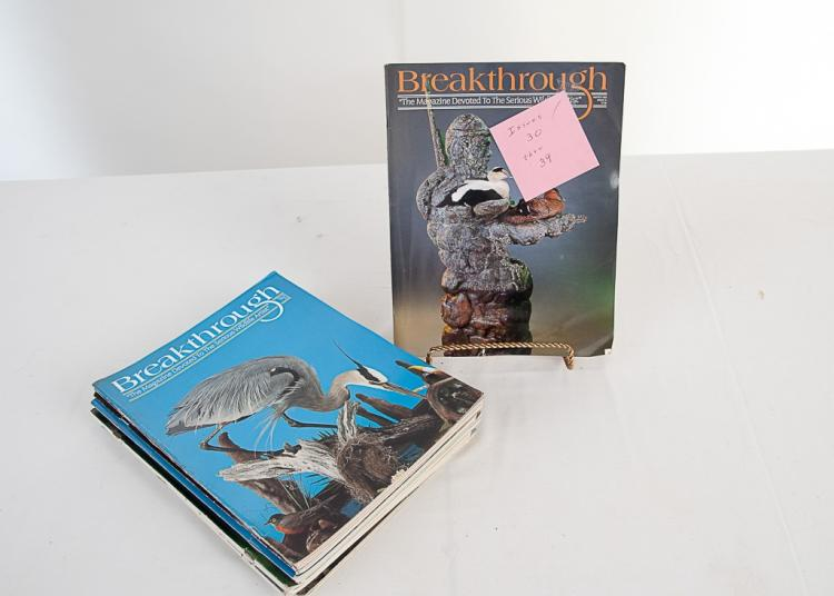 Breakthrough Taxidermy Magazine 1993-1995