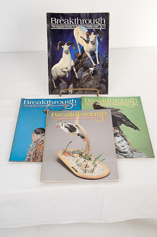 Breakthrough Taxidermy Magazine 1991-1992