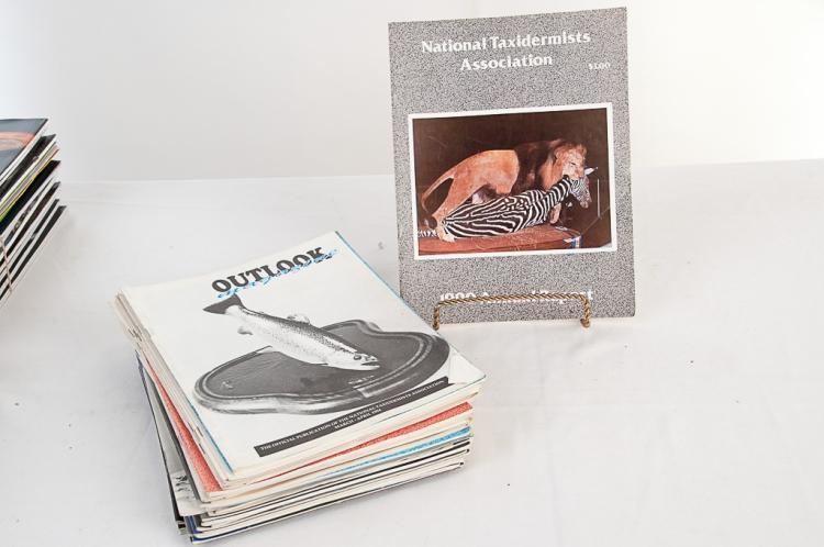 National Taxidermy Assn. Magazine 1990-1996