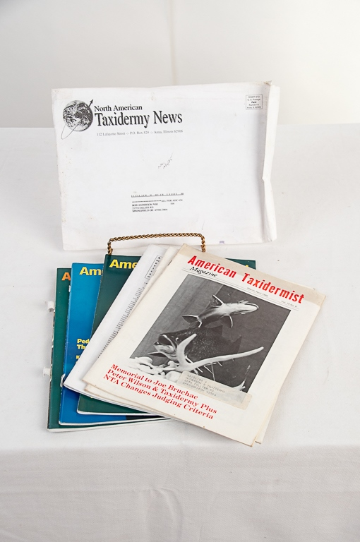 American Taxidermist Magazines 1986