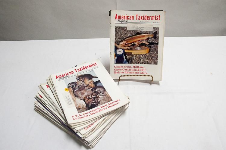 American Taxidermist Magazine1995-2000