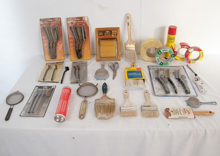 Misc. Box Lot of Taxidermy Tools