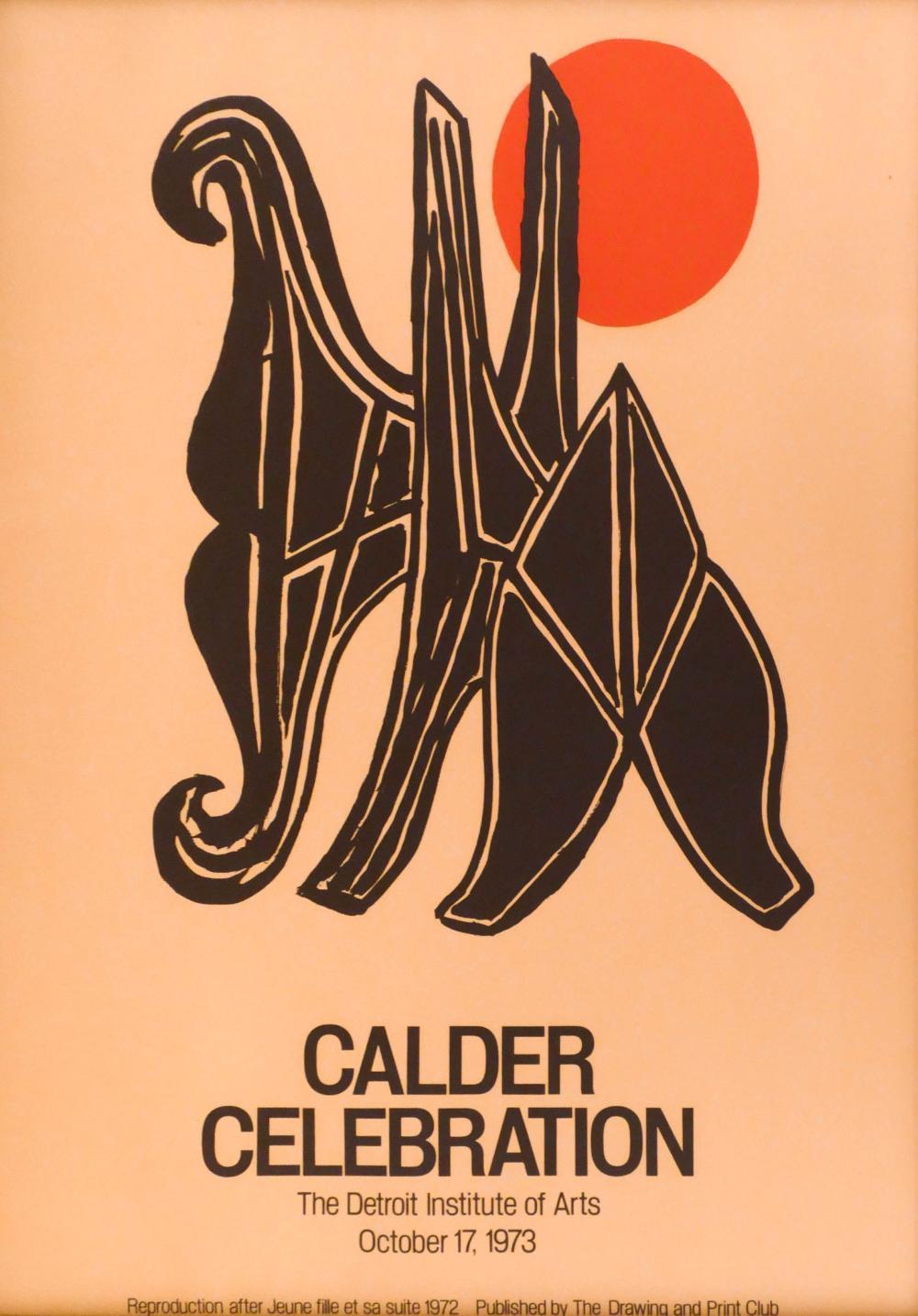 Alexander Calder ''Calder Celebration'' 1973 Poster