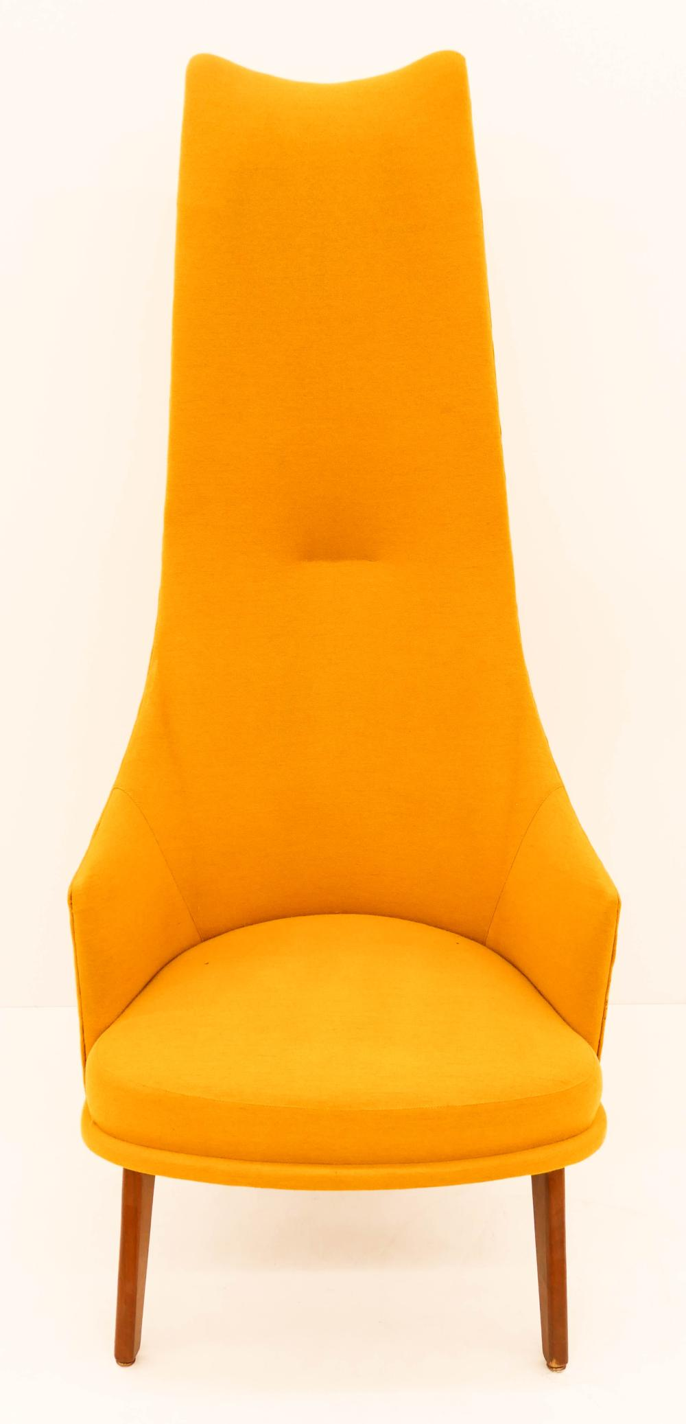 Wondrous Adrian Pearsall For Craft Assoc Yellow Lounge Chair 57X24 Camellatalisay Diy Chair Ideas Camellatalisaycom