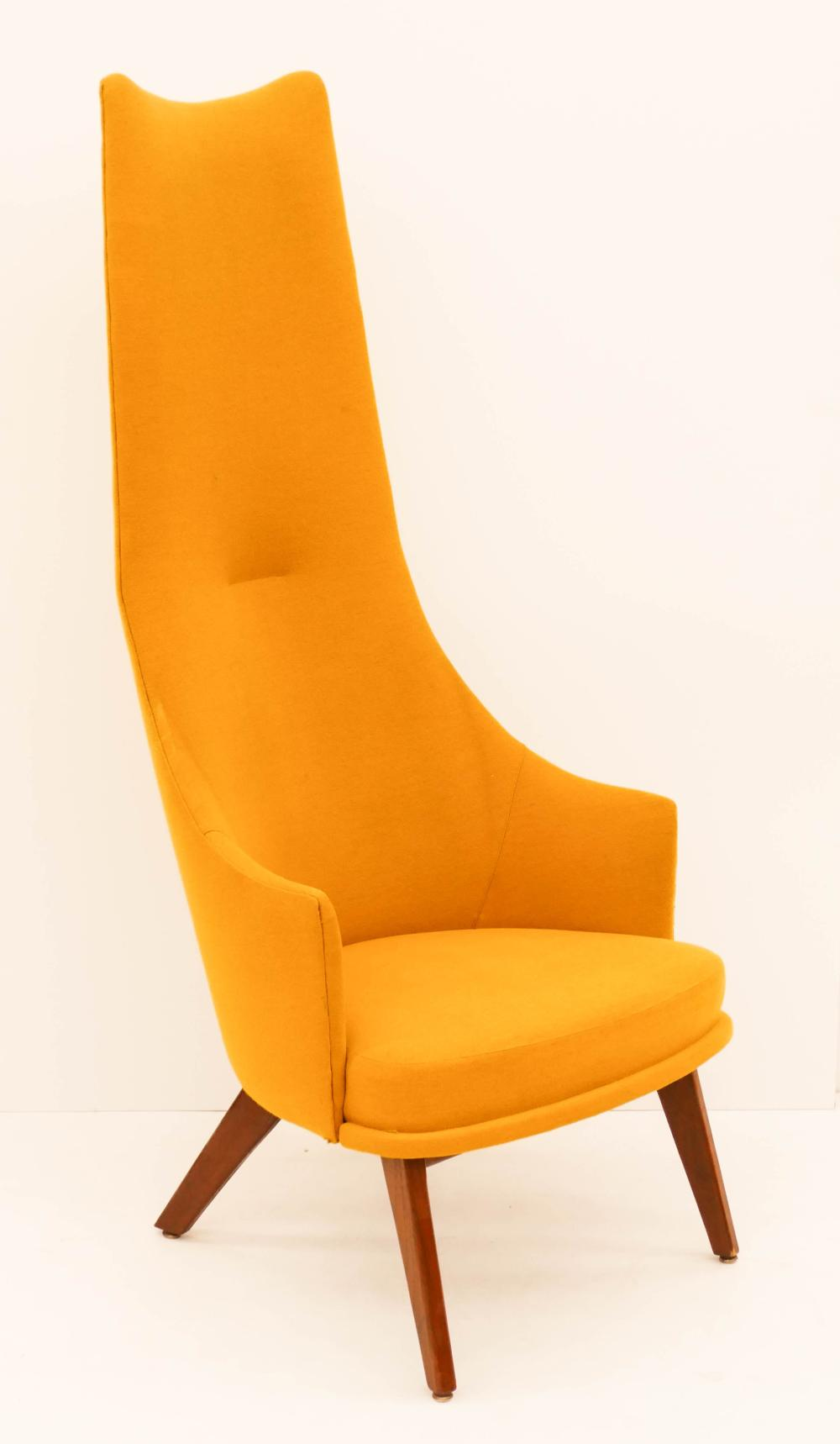 Excellent Adrian Pearsall For Craft Assoc Yellow Lounge Chair 57X24 Camellatalisay Diy Chair Ideas Camellatalisaycom