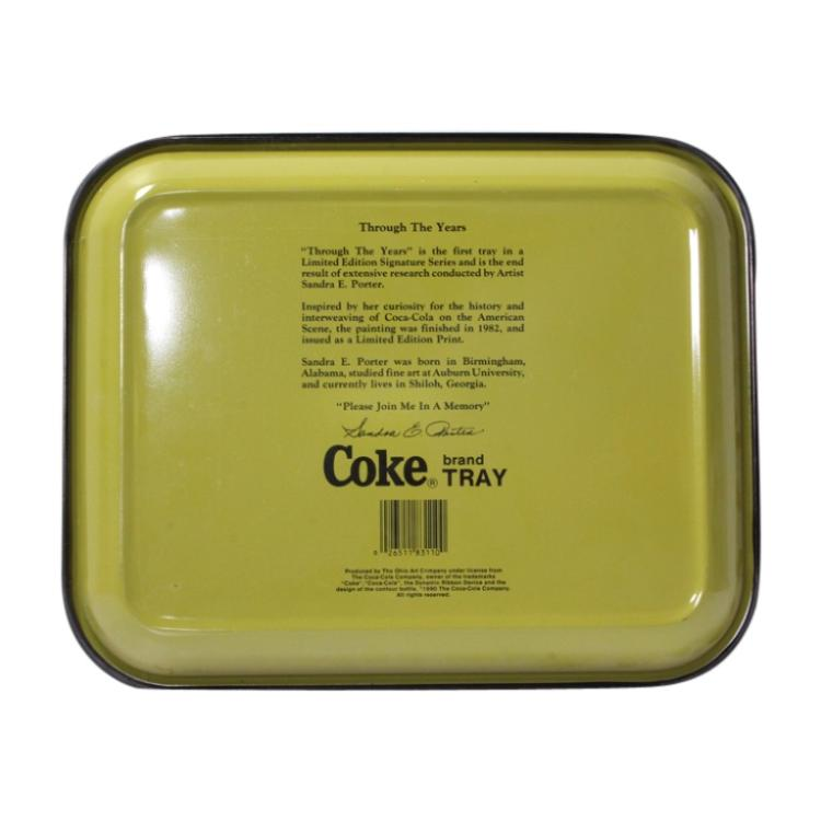 Group of 3 Coca Cola Trays
