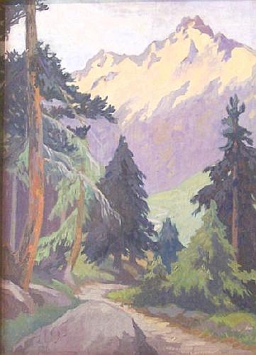 DOROTHY BLACKHAM RUA (1896-1975) Soldon, Tyrol