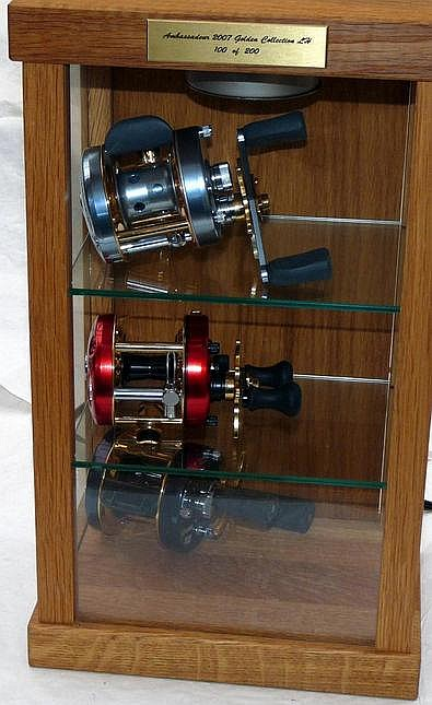 Fishing Tackle Related Items Abu Ambassadeur Gold Collect