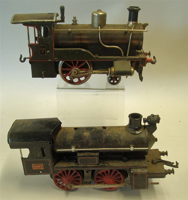 Early 20th Century Bing Live Steam Locomotive With