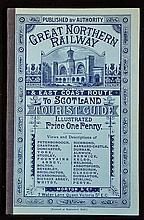 Great Northern Railway & East Coast Route To Scotland. Tourist Guide. Circa