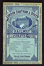 London Chatham & Dover Railway Illustrated Guide 1880s - A 32 page illustra