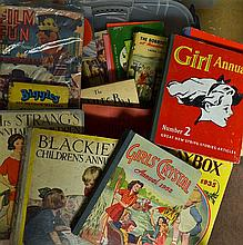 1940s onwards Assorted Children's Annual Selection to include Playbox annua