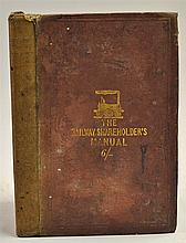 The Railway Shareholders Manual by Henry Tuck 1845 Book - A 256 page Refere